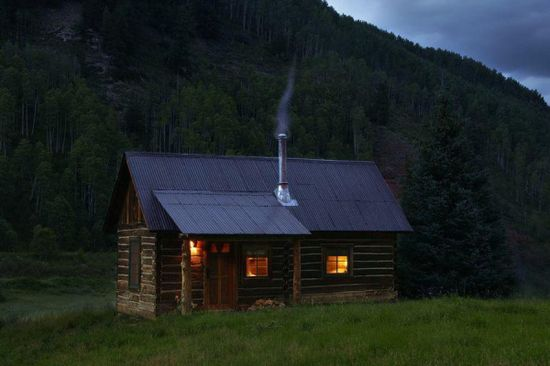 From Ghost Town to Romantic Cabin Retreat