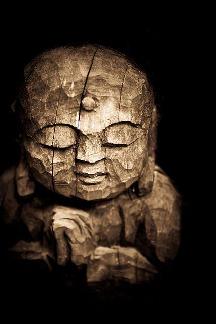 Jizo sculpture in Kyoto, Japan