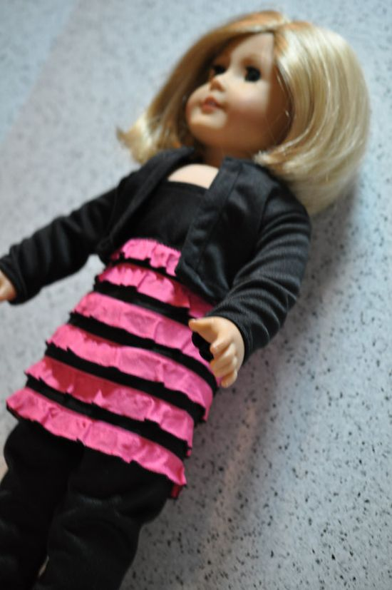 Concert Time Outfit for American Girl Doll by CallieSprings, $14.00