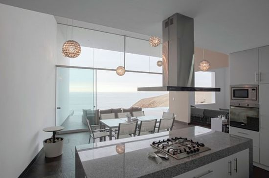 Luxurious Beachfront Modern Home with White Interior: Contemporary Kitchen Interior Design Luxury Interior House Design ~ biawow.com Bedroom Inspiration