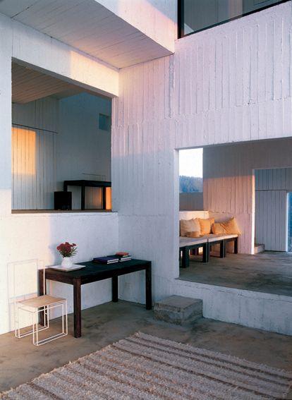 Poli House, Pezo von Ellrichshausen (Península Coliumo, Chile)