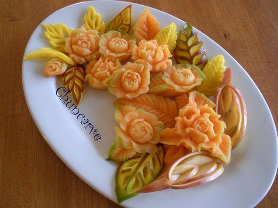 Fruit Tray Arrangements