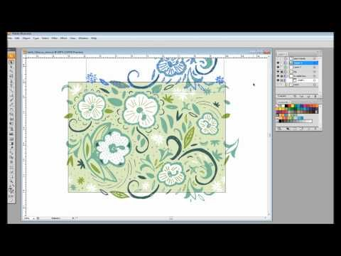 How to Make a Repeat Pattern Swatch in Adobe Illustrator