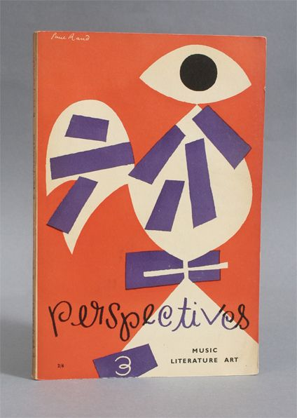 cover design by Paul Rand.