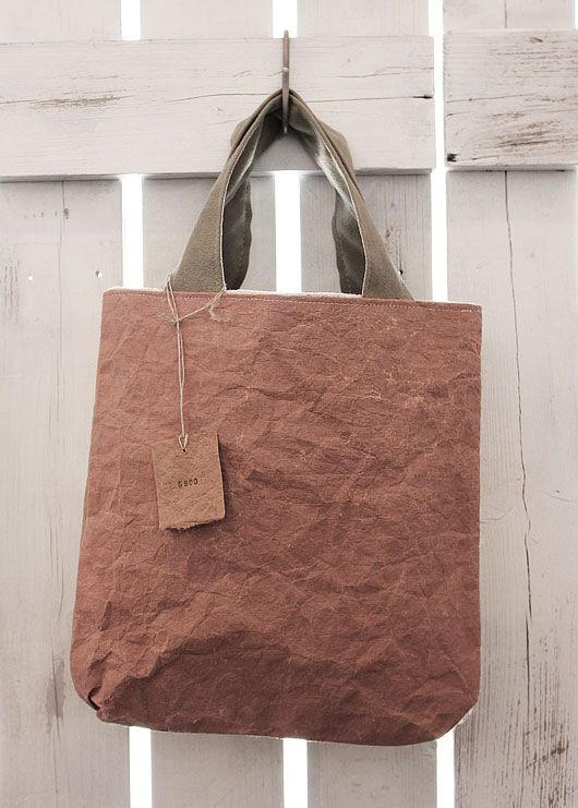 bag made of paper.