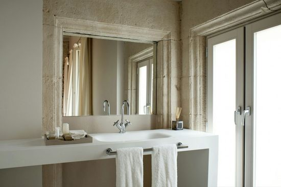 Rustic+Clean Mercer Hotel Interior Designed by Rafael Moneo