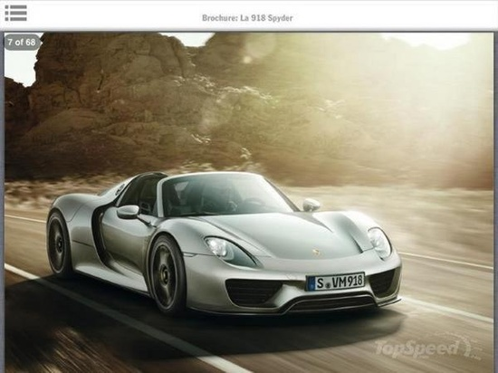 Porsche 918 Hybrid Electric Car Tested Flat Out At Nurburgring