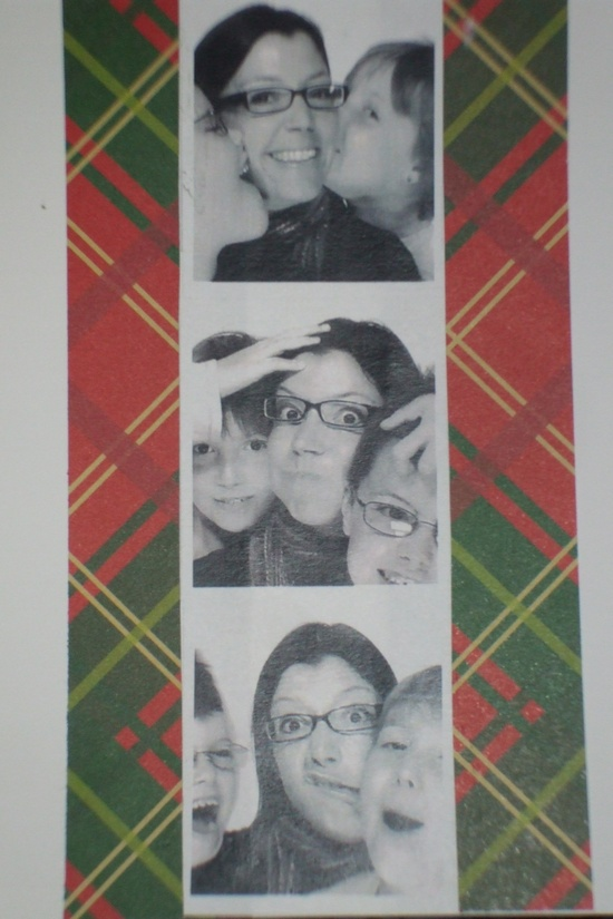 From photo booth to Christmas card