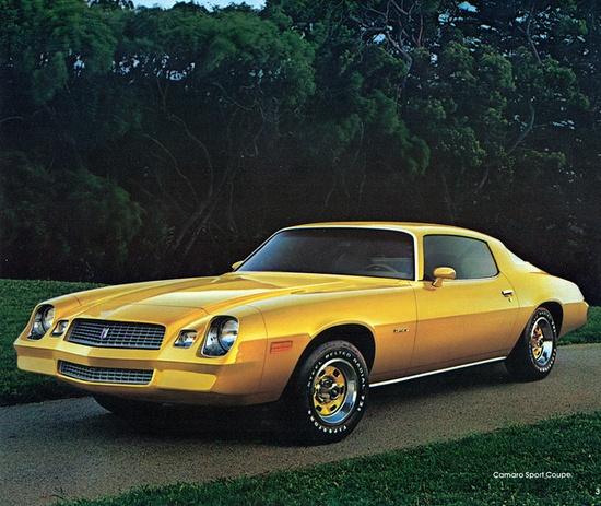 1981 Chevrolet Camaro Sport Coupe