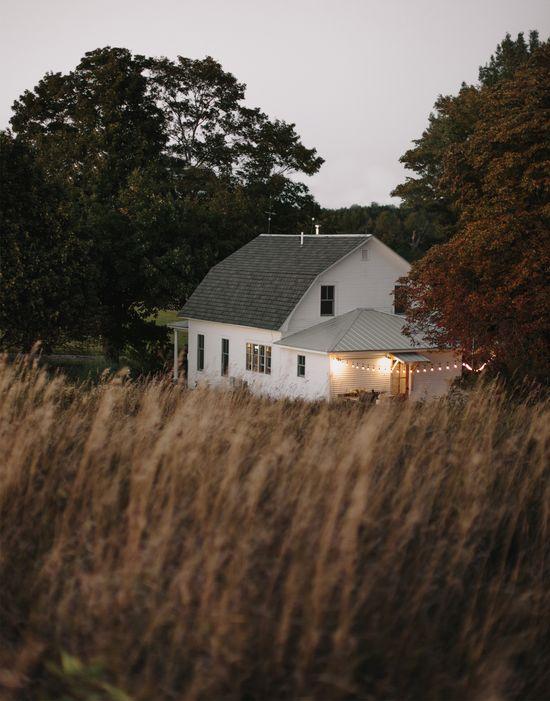 Simple Evening: Northport Farmhouse