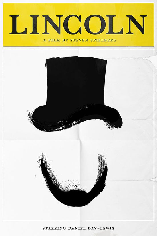 Minimalist Movie Poster: Lincoln
