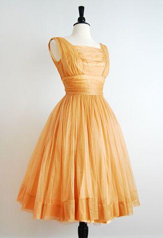 Vintage 1950s Hollywood Legend Dress
