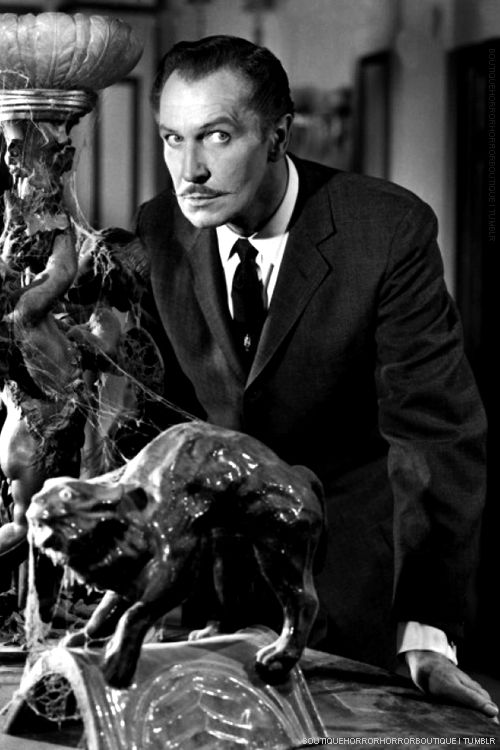 Vincent Price, art lover
