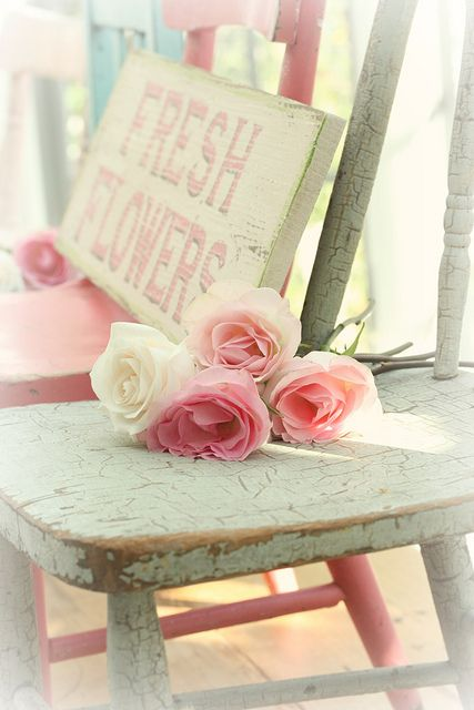 fresh flowers by lucia and mapp, via Flickr
