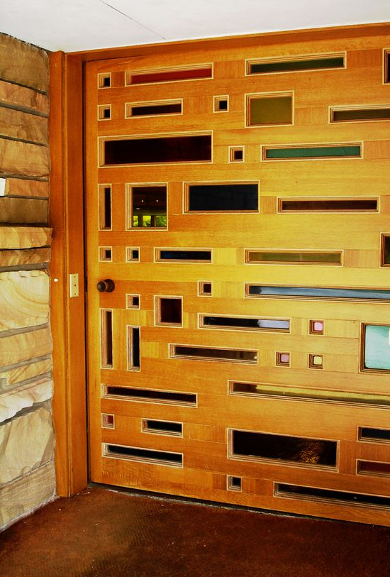 Perhaps the most amazing MCM door I've ever seen.