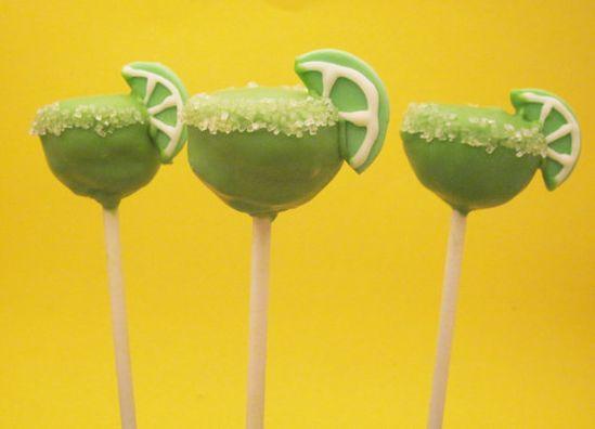 Margarita cakepops!!