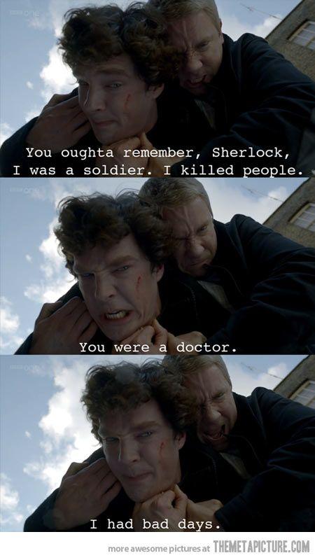 Sherlock and Watson…