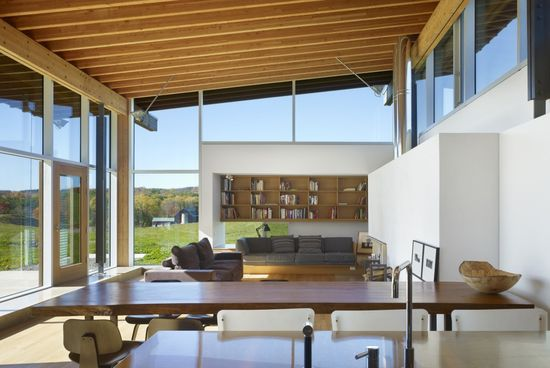 Interior from Meadow House by Ian MacDonald Architect