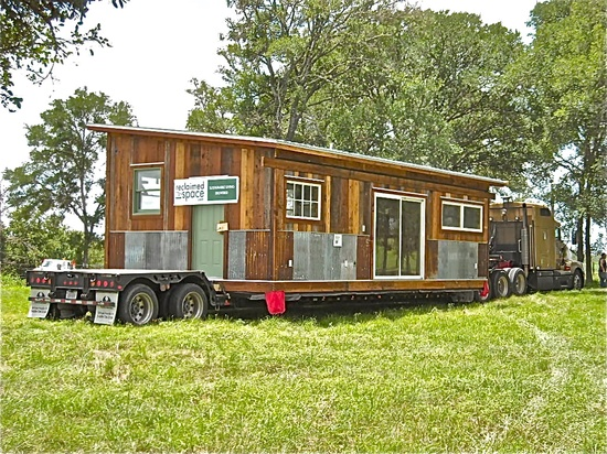 Reclaimed Space prefab cabins