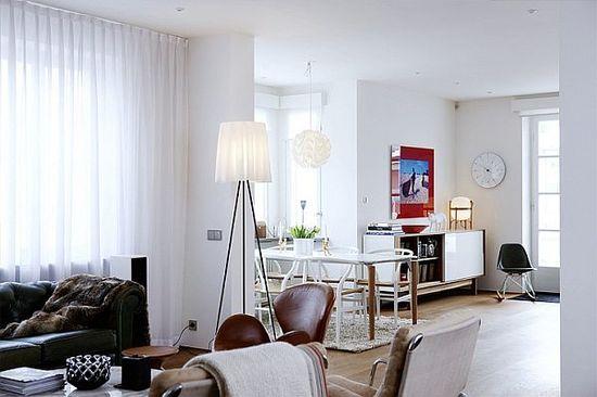 amazing white mid century interior modern homes design