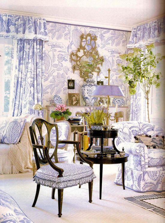 Picture of Elegance Blog: Mario Buatta's Romantic Interiors