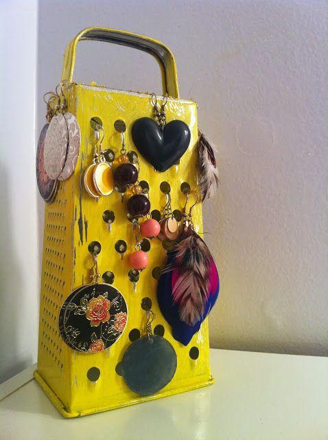 Me new earings rack #DIY #Fashion #Home