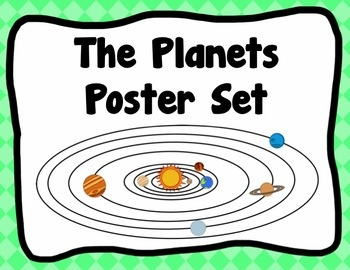 The Planets Poster Set - The Universe, $