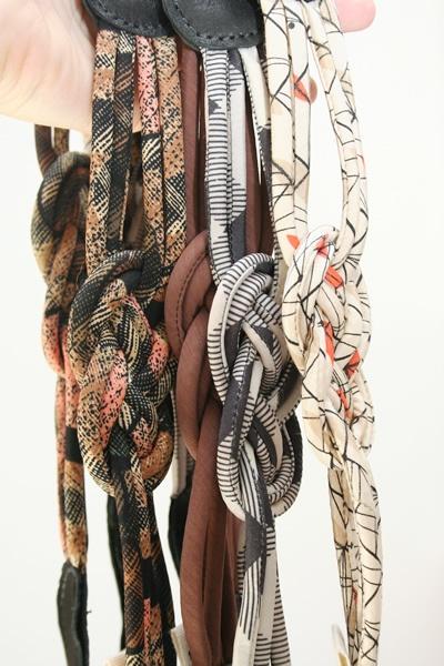 Fabric Knot Belts
