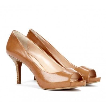 CLAIRE mid heel pump