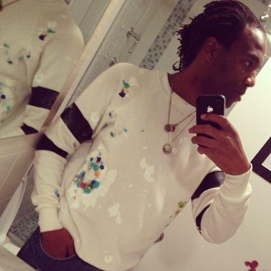 Art-sport sweatshirt #byanyseamsnecessary #diy #fashion #design #sweatshirt