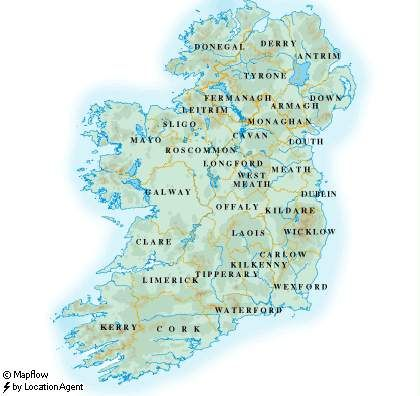 IRELAND FACTS AND TRAVEL TIPS. My favorite!