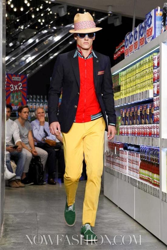 Moschino Menswear Spring Summer 2013 Milan