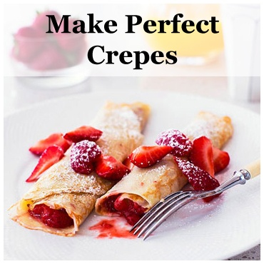 We are crazy for crepes! These sweet strawberry or savory cheese and onion crepes, from our friends @Phyllis Garcia magazine, are a great French twist on a breakfast classic:  www.parents.com/...