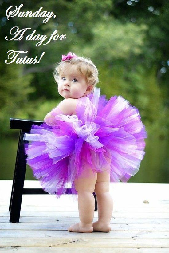 Tutu Love #baby #tutu #love #sunday
