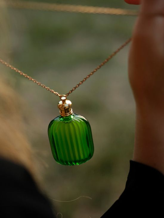 The Emerald Potion A Black Forest Perfume by ForStrangeWomen