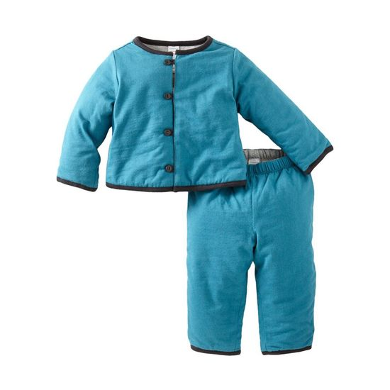 Quilted Baby Outfit