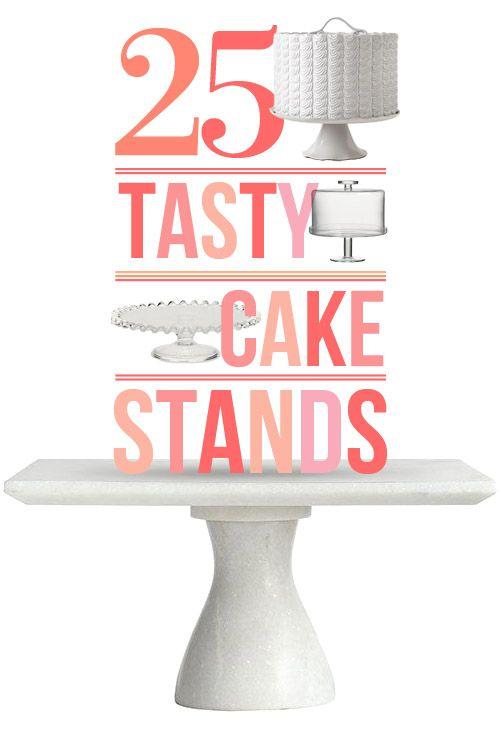 25 Great Cake Stands + 11 Delicious Cake Recipes - Design*Sponge
