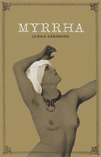 book cover, myrrha