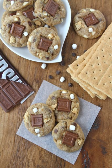 S'mores Mini Cookies