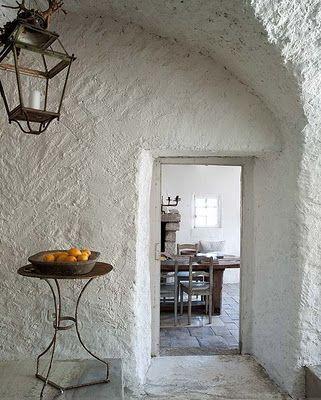 rustic provencal industrial interior design