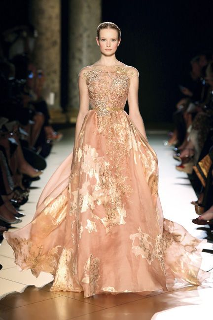 Elie Saab Spring 2013 Spring 2013 sexy dress glamour