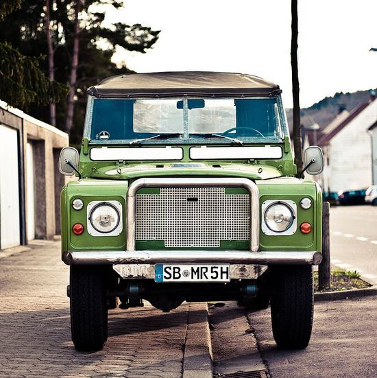 Land Rover / photo by Andreas Strauch
