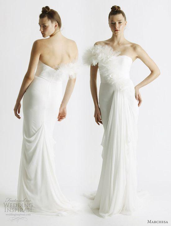 Marchesa Spring 2011 bridal collection