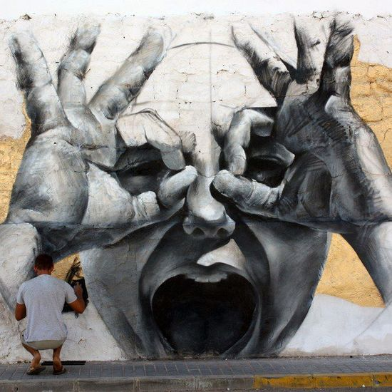 by mesa #street art