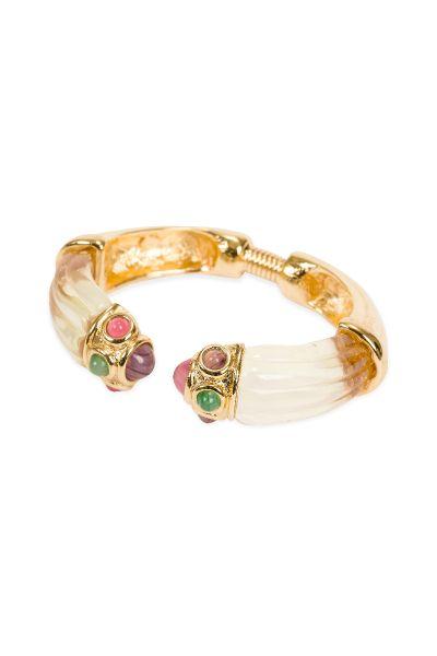givenchy lucite hinge bracelet