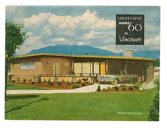 mid-century home brochures / via @Shelly Priebe & Correct.