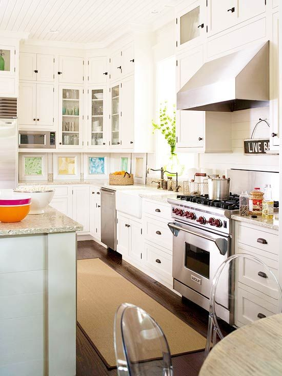 Light & Bright #kitchen decorating before and after #kitchen design