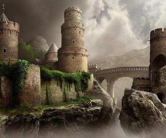 A fantastic castle!