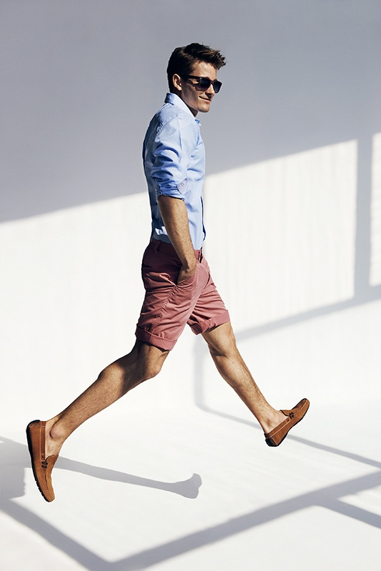 a casual look Men's fashion