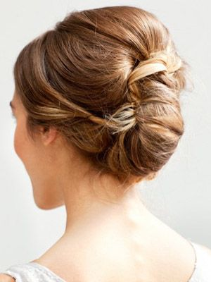 Twisted Bridal Updo via @Elizabeth Lockhart Anne Designs